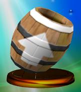 Barrel Cannon Trophy (Melee)