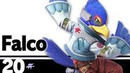 20 Falco – Super Smash Bros