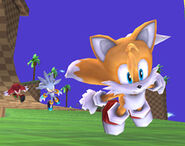 Green Hill Zone background characters