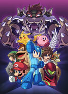 Mega Man illust-modal