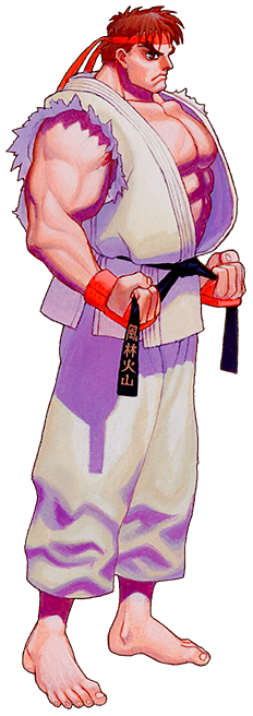 List of spirits (Street Fighter series)
