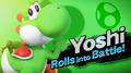 Yoshi SSB4 Artwork 7