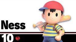 10 Ness – Super Smash Bros