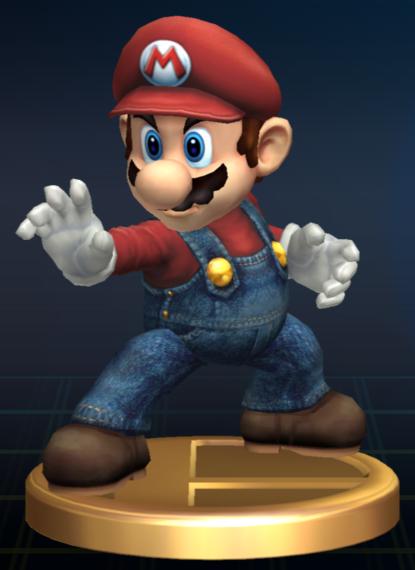 Lista de trofeos de SSBB (Super Mario Bros.)