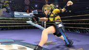 Saki Amamiya en el Cuadrilatero SSB4 (Wii U)