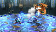 Megaevolución (Lucario) (3) SSB4 (Wii U)