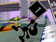 Créditos Modo Clásico Mr. Game & Watch SSBM