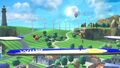 Aldeano y Olimar en las Islas Wuhu (2) SSB4 (Wii U)
