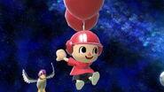 Aldeano y el Pato de Duck Hunt en Mario Galaxy SSBU
