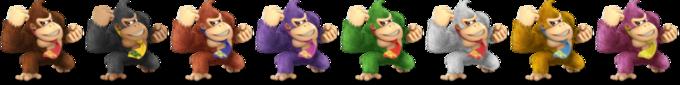 Paleta de colores de Donkey Kong SSBU.png
