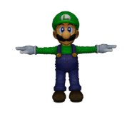 Pose T Luigi SSBM