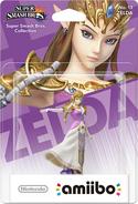 Embalaje del amiibo de Zelda