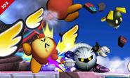 Meta Knight en el Smashventura SSB4 (3DS)