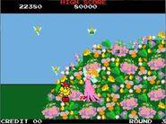 Pac Man y la Reina de las Hadas en Pac Land