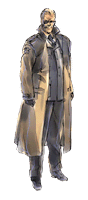 Lista de pegatinas de SSBB (Metal Gear)