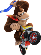 Art de Donkey Kong en Mario Kart 8