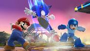Mario, Sonic y Mega Man - (SSB. for Wii U)