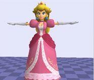 Pose T Peach SSB4 (Wii U)