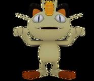 Pose T Meowth SSB4 (Wii U)