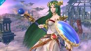 Palutena en el Campo de Batalla SSB4 (Wii U)