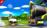 Bowsy en el Tren de los Dioses SSB4 (3DS)