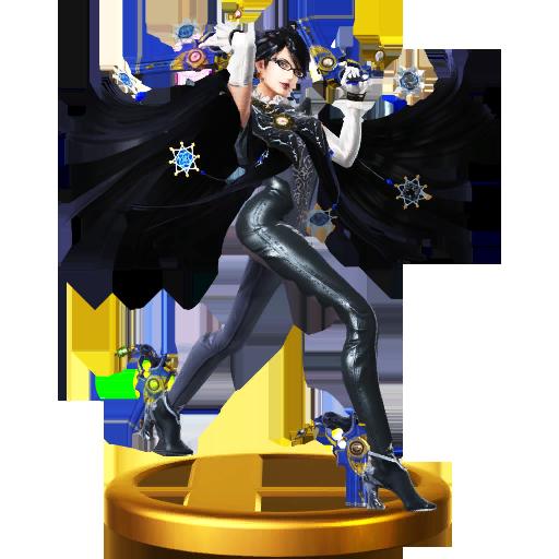 Lista de trofeos de SSB4 Wii U (Bayonetta)