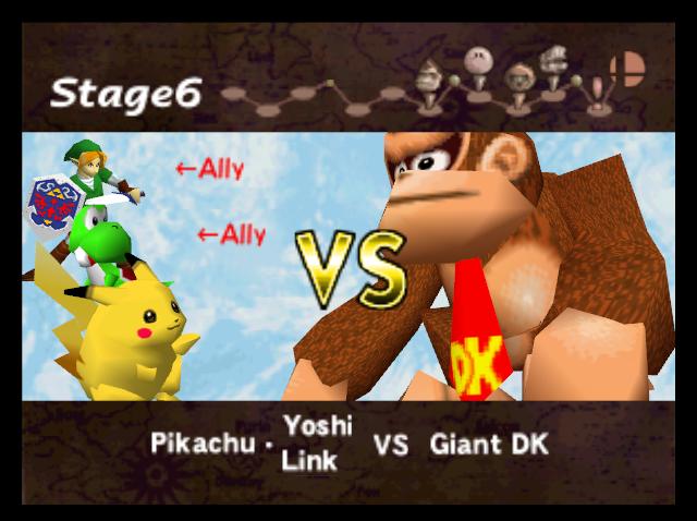Donkey Kong gigante