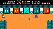 Takamaru atacando en The Mysterious Murasame Castle