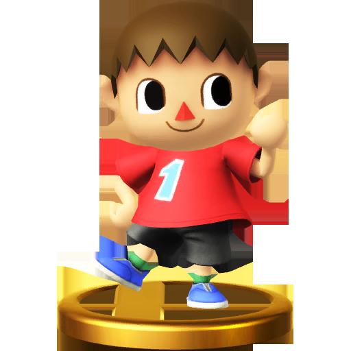 Lista de trofeos de SSB4 Wii U (Animal Crossing)