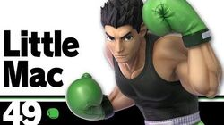 49 Little Mac – Super Smash Bros