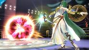 Palutena en el Ring de Boxeo SSB4 (Wii U)