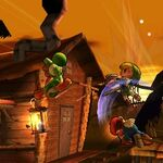 Yoshi, Toon Link y Mario en la Jungla Jocosa SSB4 (3DS).jpg