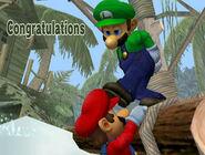 Créditos Modo All-Star Luigi SSBM