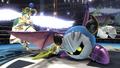 Palutena junto a Meta Knight en el Ring de Boxeo SSB4 (Wii U)