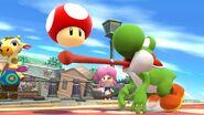 Champiñon en SSB4 (Wii U)
