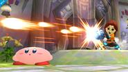 Ataque Smash lateral del Tirador Mii SSB4 (Wii U)