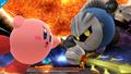 Meta Knight y Kirby en el Destino Final SSB4 (Wii U)