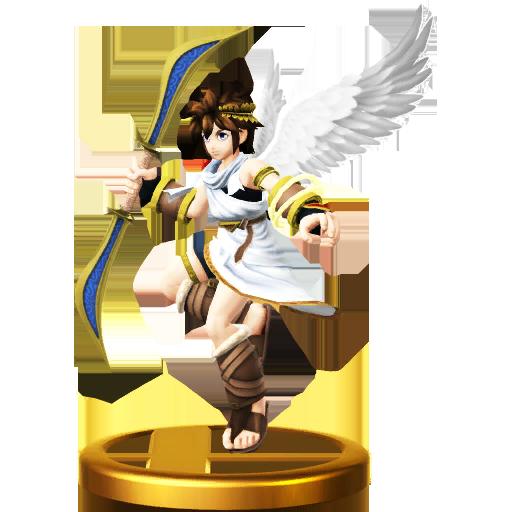Lista de trofeos de SSB4 Wii U (Kid Icarus)