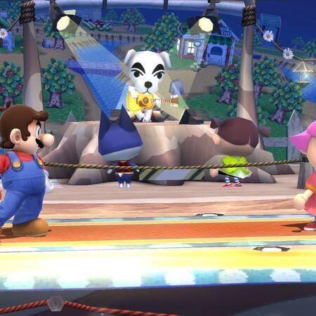 Concierto de Totakeke en Pueblo Smash SSB4 (Wii U).jpg