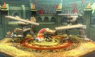 Marth y la Entrenadora de Wii Fit en el Coliseo de Regna Ferox - (SSB. for 3DS)
