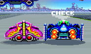 Blue Falcon a punto de irse SSB4 (3DS)