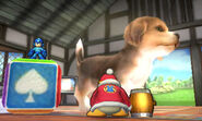 Tamaño de los personajes en la Casa SSB4 (3DS)