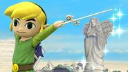 Toon Link en Neburia SSB4 (Wii U)
