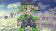 Escenario con forma de Luigi SSB4 (Wii U)