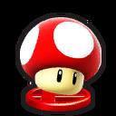 Trofeo de Champiñón gigante en Mundo Smash SSB4 (Wii U)