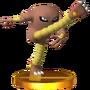 Trofeo de Hitmonlee SSB4 (3DS).png