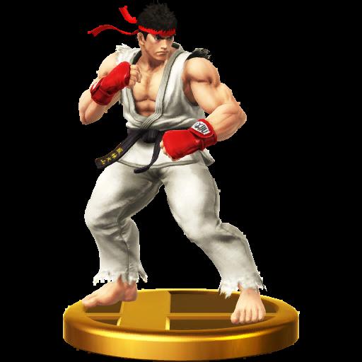Lista de trofeos de SSB4 Wii U (Street Fighter)