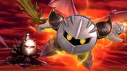 Meta Knight en el Hal Abarda SSB4 (Wii U)