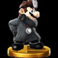 Trofeo de Dr. Mario (alt.) SSB4 (Wii U)