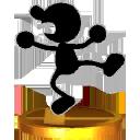 Lista de trofeos de SSB4 3DS (Game & Watch)